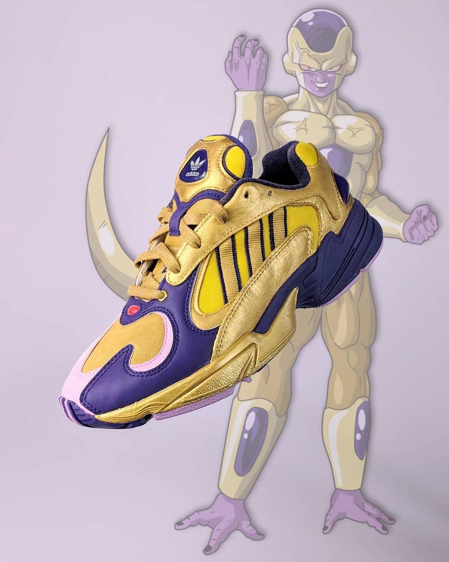 Dragon Ball Z x Adidas Yung-1 Golden Frieza (1)