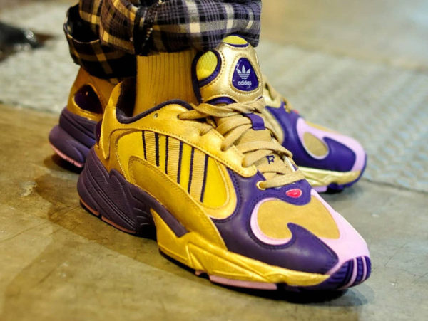 207b12343 Adidas Falcon Yung-1 DBZ Golden Freezer
