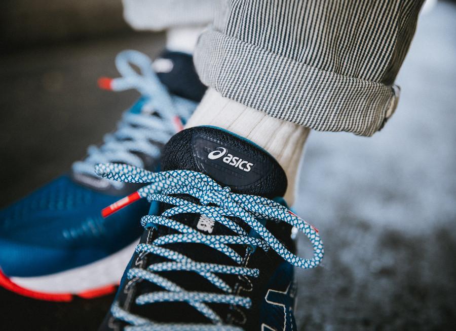 Mita Sneakers x Asics Gel Kayano 25 bleue trico 1011A587-403 (1)