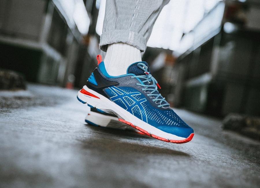 Mita Sneakers x Asics Gel Kayano 25 bleue trico 1011A587-403 (2)