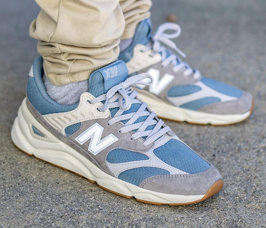 New Balance MSX90RCC Cyclone Marblehead on feet