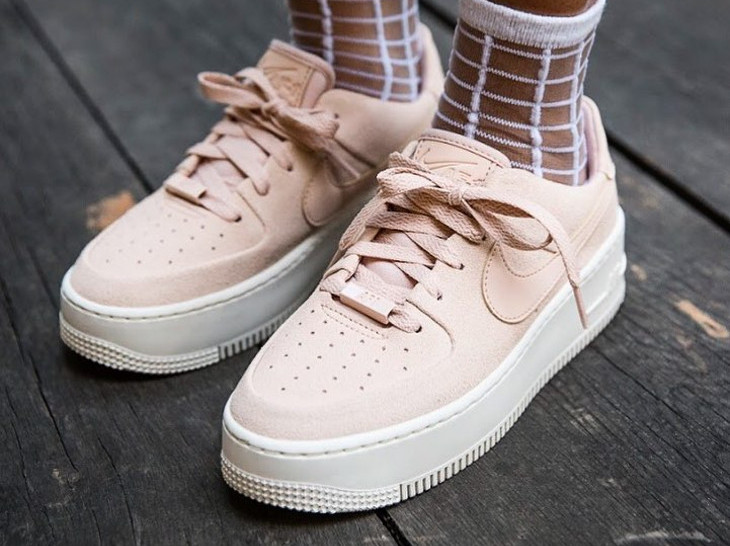 nike air force 1 femme rose pale