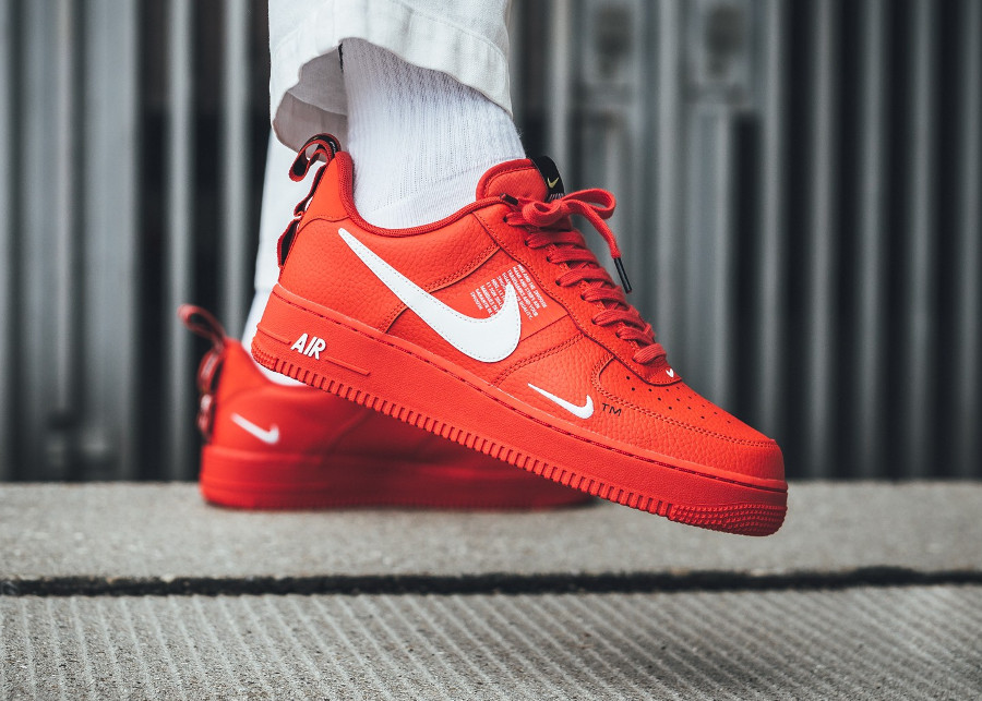 Nike Air Force 1 '07 LV8 Utility rouge Team Orange