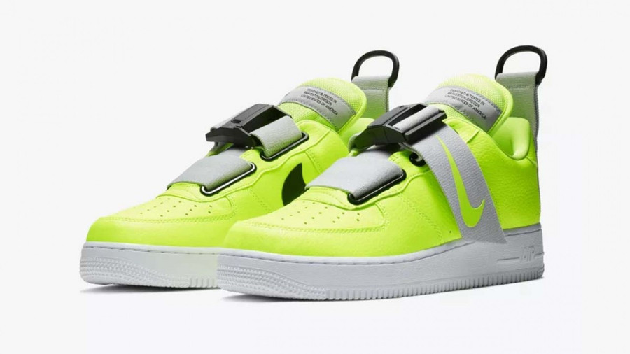 Nike Air Force 1 Utility QS Volt