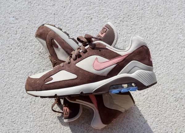 brand new 5bdc8 5a76b Que vaut la Nike Air Max 180 Baroque Brown Rust Pink String