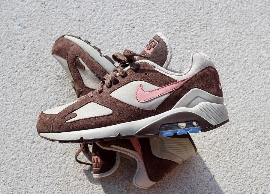 Nike Air Max 180 'String Rust Pink Baroque Brown'