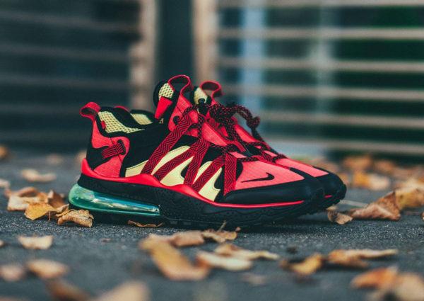 sports shoes 7d6e2 73a48 Nike Air Max 270 noire rouge jaune et verte (2)