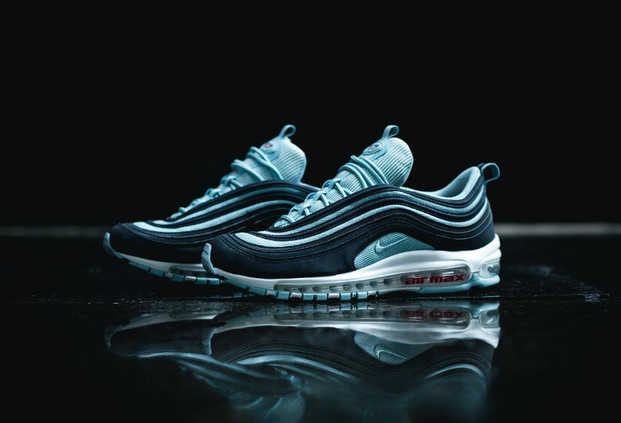 Nike Air Max 97 Premium 'Ocean Bliss Dark Obsidian'
