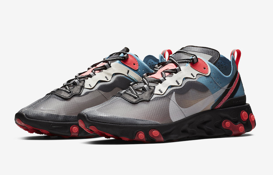 Nike-React-Element-87-Blue-Chill-Solar-Red-AQ1090-006-sortie-france