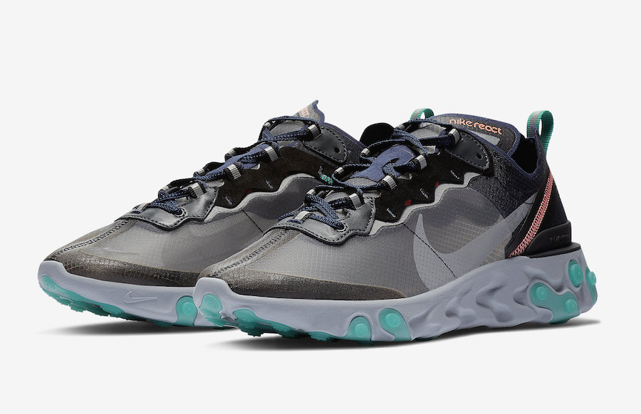 Nike-React-Element-87-Neptune-Green-Bright-Mango-AQ1090-005-sortie-france