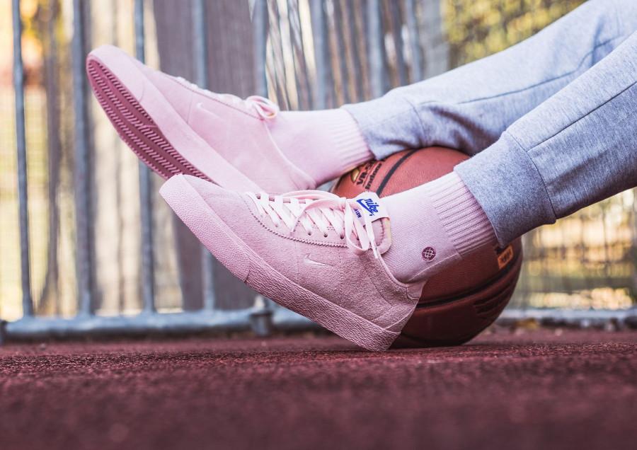 Nike Zoom SB Bruin NBA toute rose (1)
