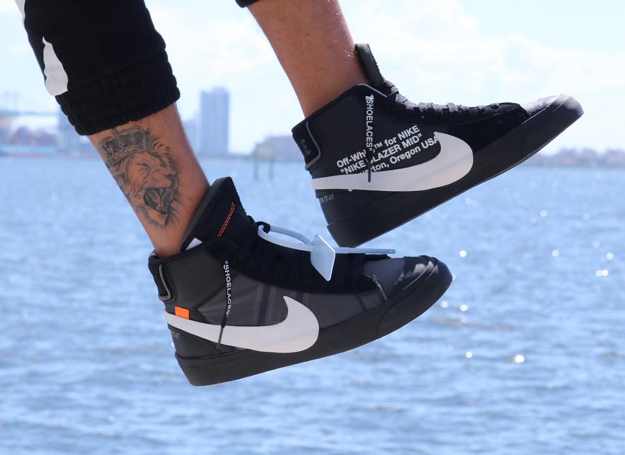 Off White x Nike Blazer Mid 'Grim Reaper'