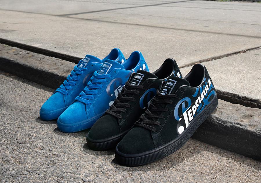 Pepsico x Puma Suede 50 'Blue & Black'