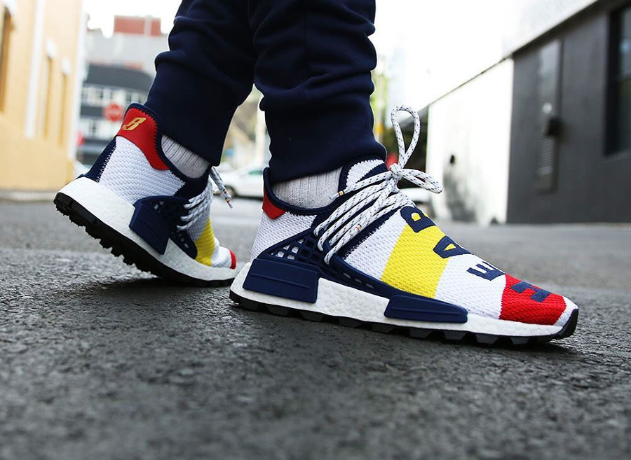 Rouge Blanc Nmd Homme Bleu Williams Adidas Pharrell