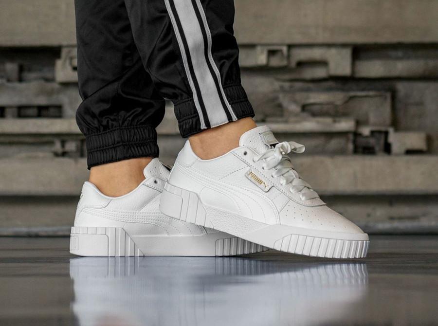 recherche de liquidation dégagement chaussures de sport Que vaut la Puma Cali WN's blanche 'Puma White' ?