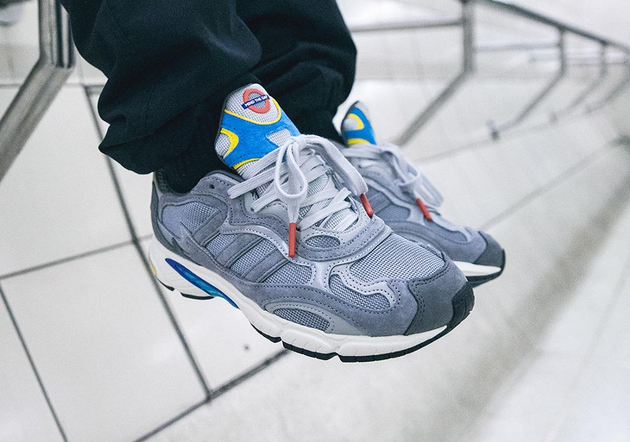 Transport for London x Adidas Temper Run 'Grey/Gray F17'