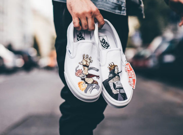Vans Slip On 'Fairy Tail'