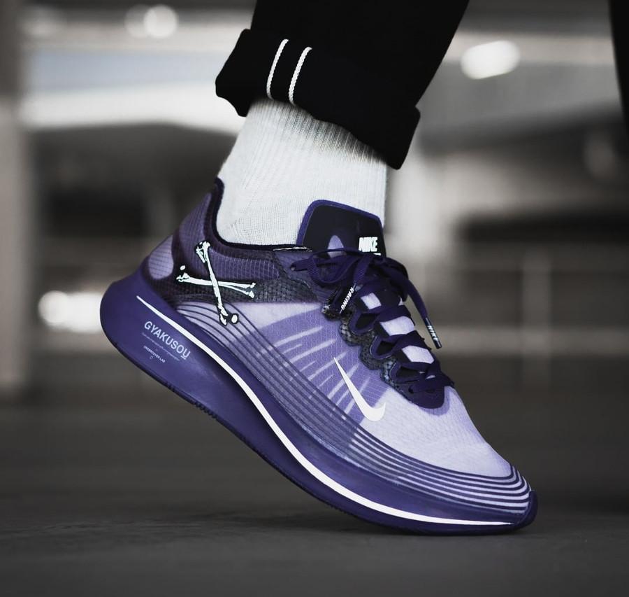 acheter chaussure Nike Zoom Fly Gyakusou violet AR4349-500