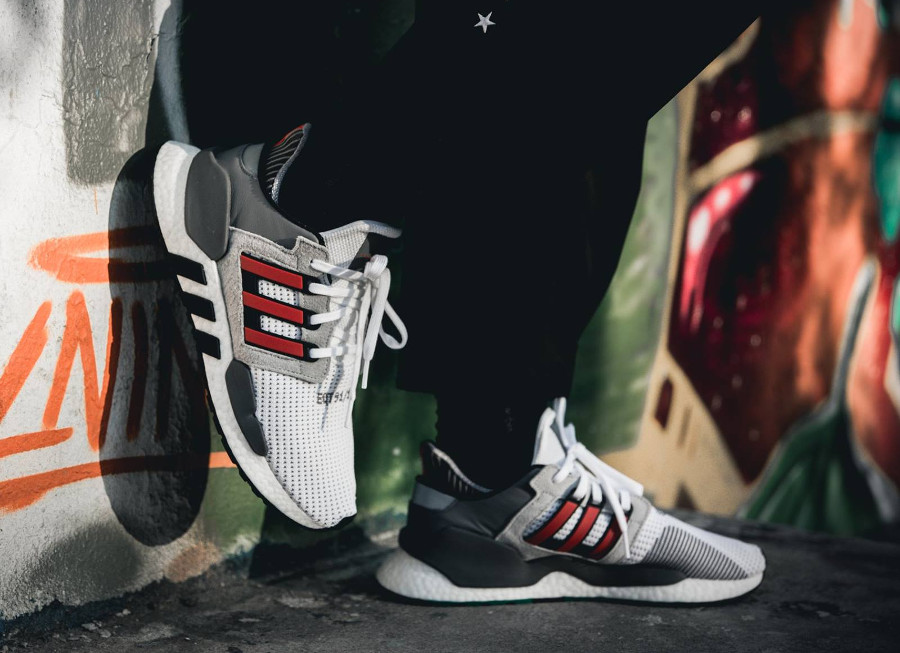 Adidas EQT Support 91/18 'White Red'