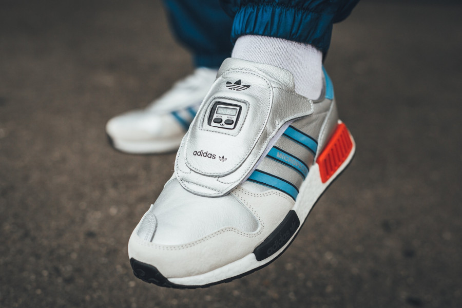 adidas originals micropacer OG x Adidas NMD R1 on feet G26778