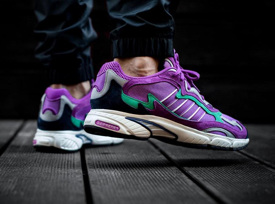 adidas-temper-run-homme-violet-on-feet-F97208 (4)