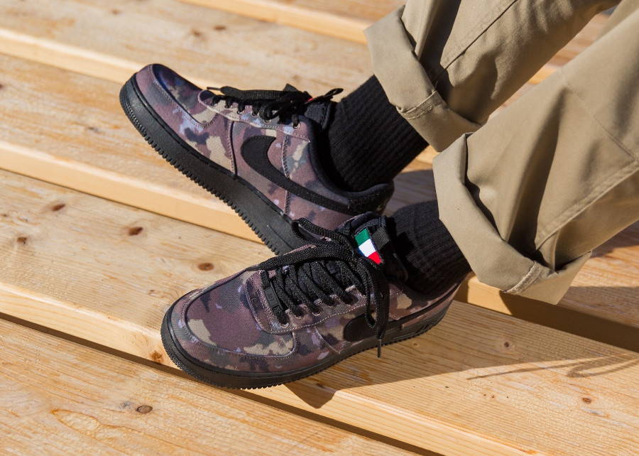 Avis] Nike Air Force 1 '07 'Country Camo Italy' Ale Brown