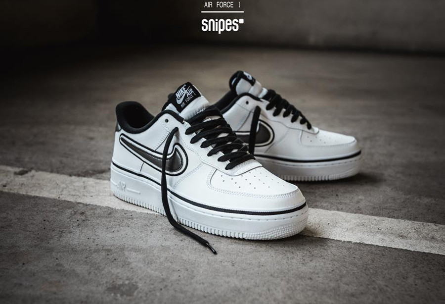 air force 1 nba noir et blanc
