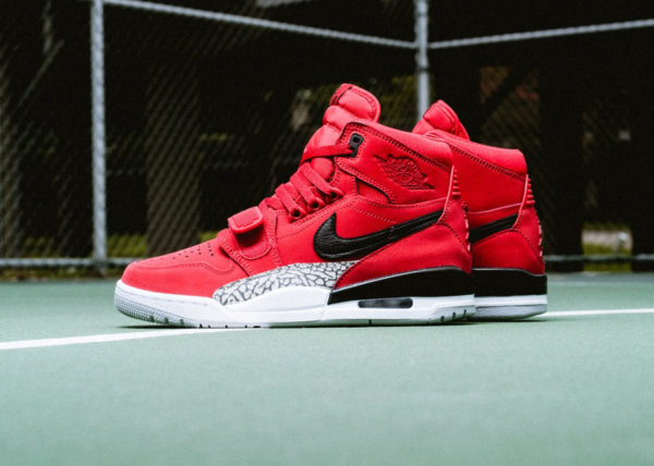Don C x Air Jordan Legacy 312 'Toro' Varsity Red
