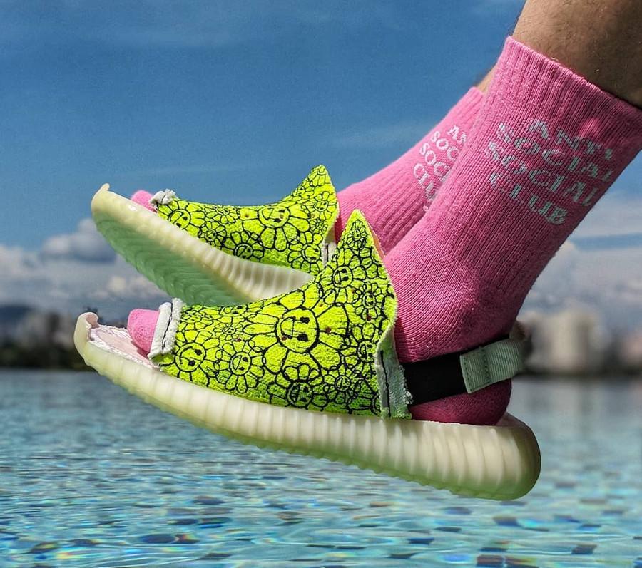 sandales adidas yeezy 350 Boost V2 - edmondlooi