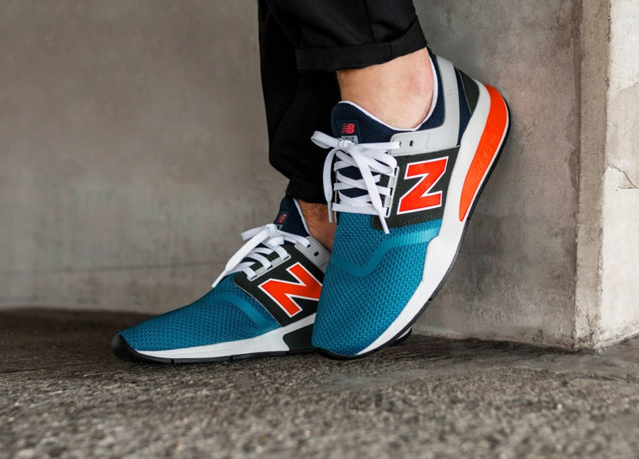 new-balance-ms247-v2-homme-bleue-orange-et-grise-on-feet (4)