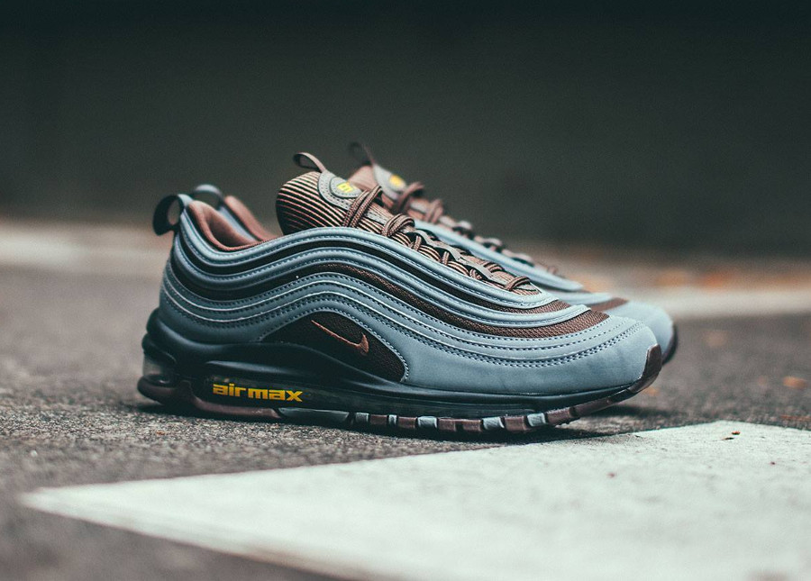 Nike Air Max 97 Premium 'Baroque Brown Cool Grey Gold'