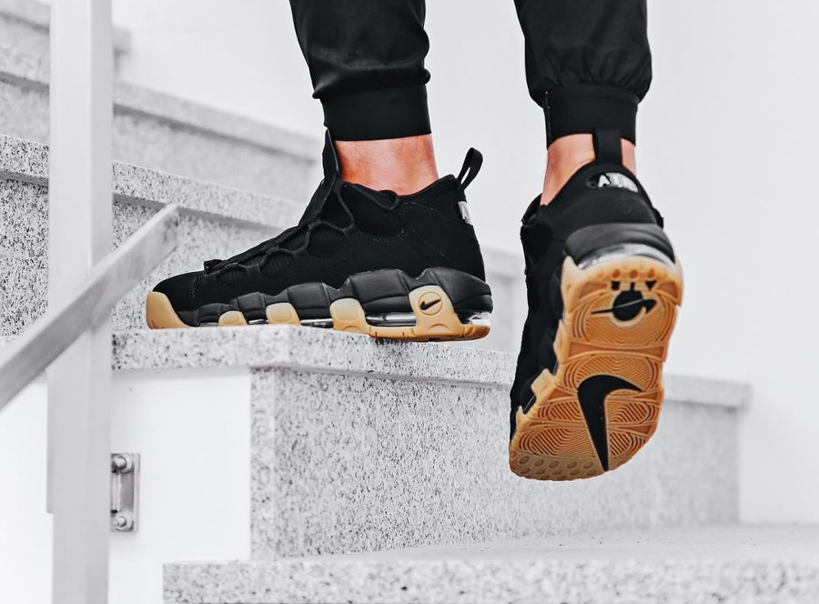 Nike Air More Money 'Black Gum'