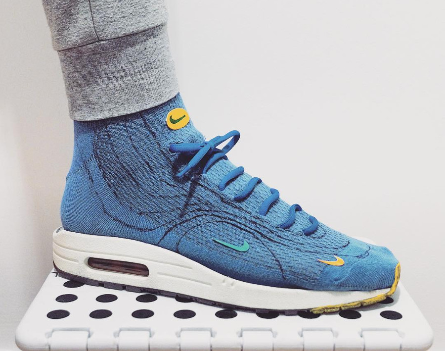 chaussette Nike Air Max 1/97 Wotherspoon - @pugsandkicks