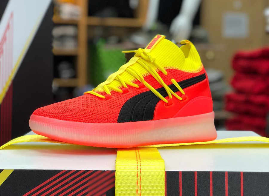 Puma Clyde Court Disrupt 'Red Blast'