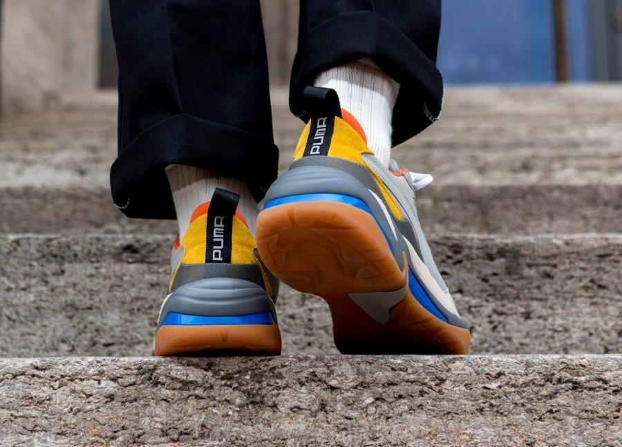 puma-thunder-spectra-gris-orange-jaunee-et-beige-367516 02 (4)