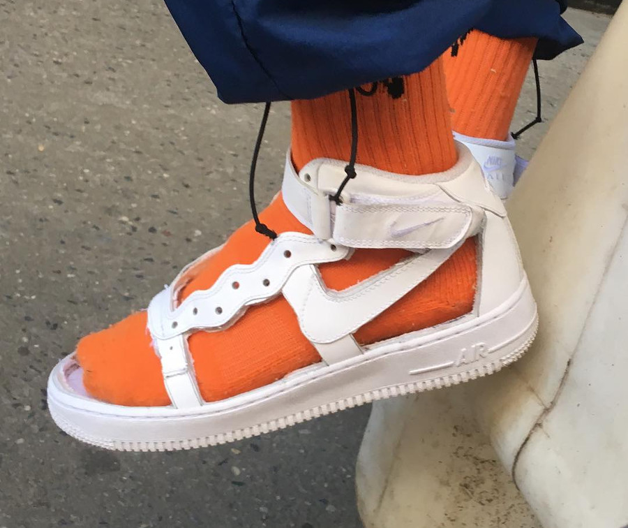 sandale Nike Air Force 1 Mid - @kunai.nyc