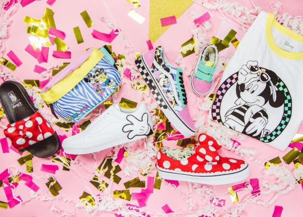 Disney x Vans Mickey Mouse '90th Anniversary' (collection automne 2018)