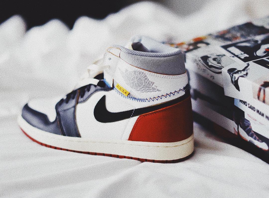 Union Los Angeles x Air Jordan 1 Retro Hi OG 'Black Toe'
