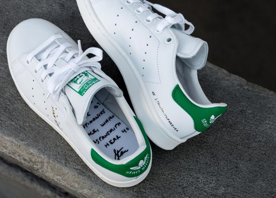 Adidas Stan Smith Forever OG Ftwr White Green (1)