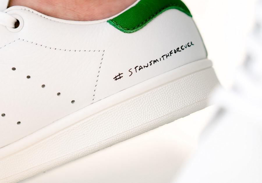 Adidas Stan Smith Forever OG Ftwr White Green (2-1)