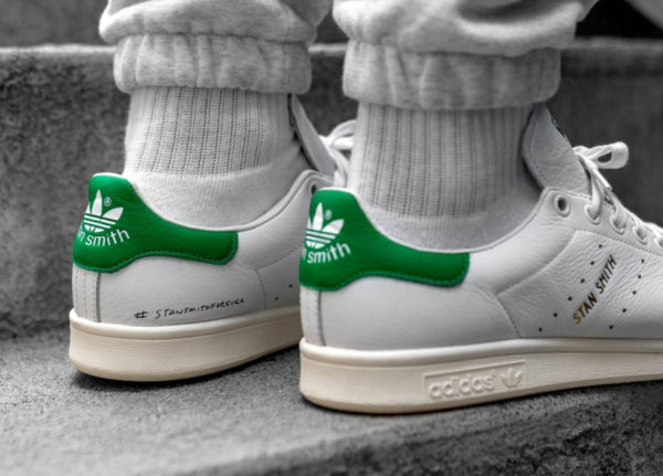 Adidas Stan Smith Forever OG Ftwr White Green (2)