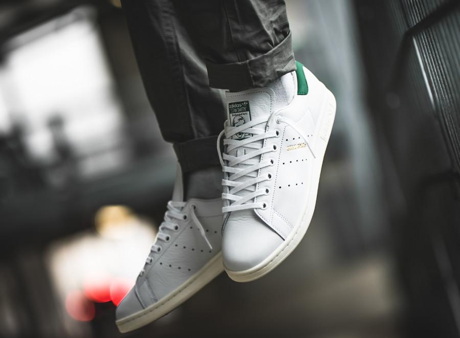 Adidas Stan Smith Forever OG Ftwr White Green (3)