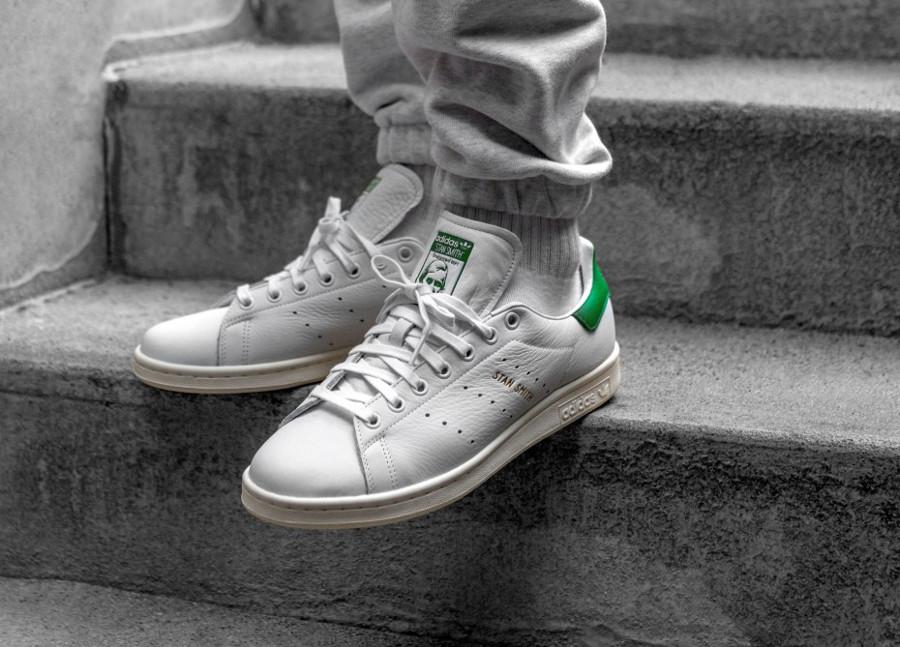 Adidas Stan Smith Forever OG Ftwr White Green (5)