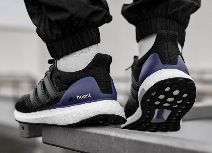 Adidas UltraBoost 1 PK noire violet et dorée on feet (1)