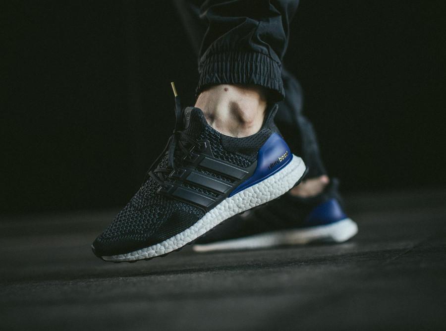 Adidas UltraBoost 1 PK noire violet et dorée on feet (3)