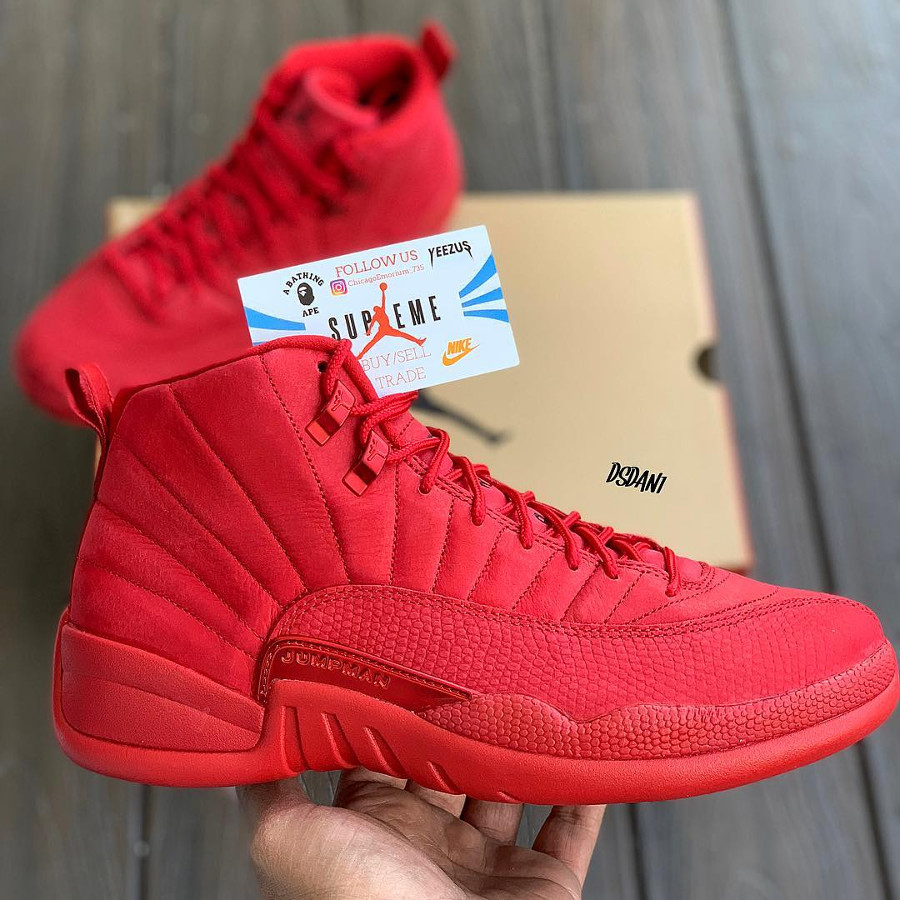 air jordan 12 retro rouge