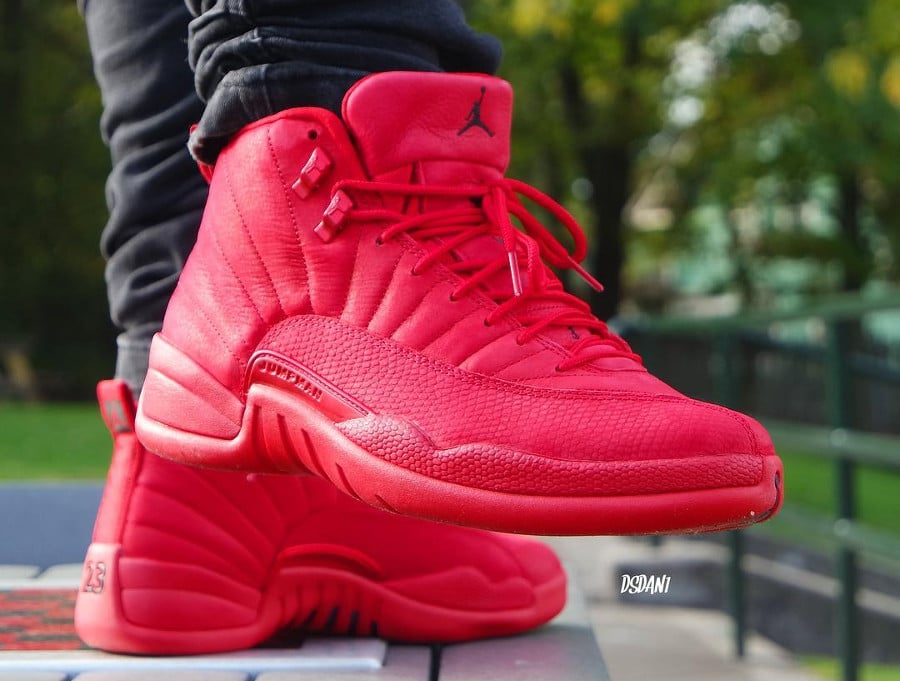 Air Jordan 12 Retro 'Gym Red Black'