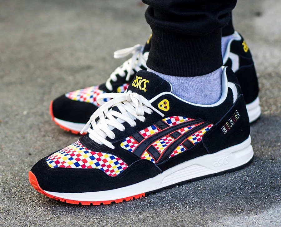 Asics Gel Saga 'Balloon Fiesta' Multicolor Size Exclusive on feet
