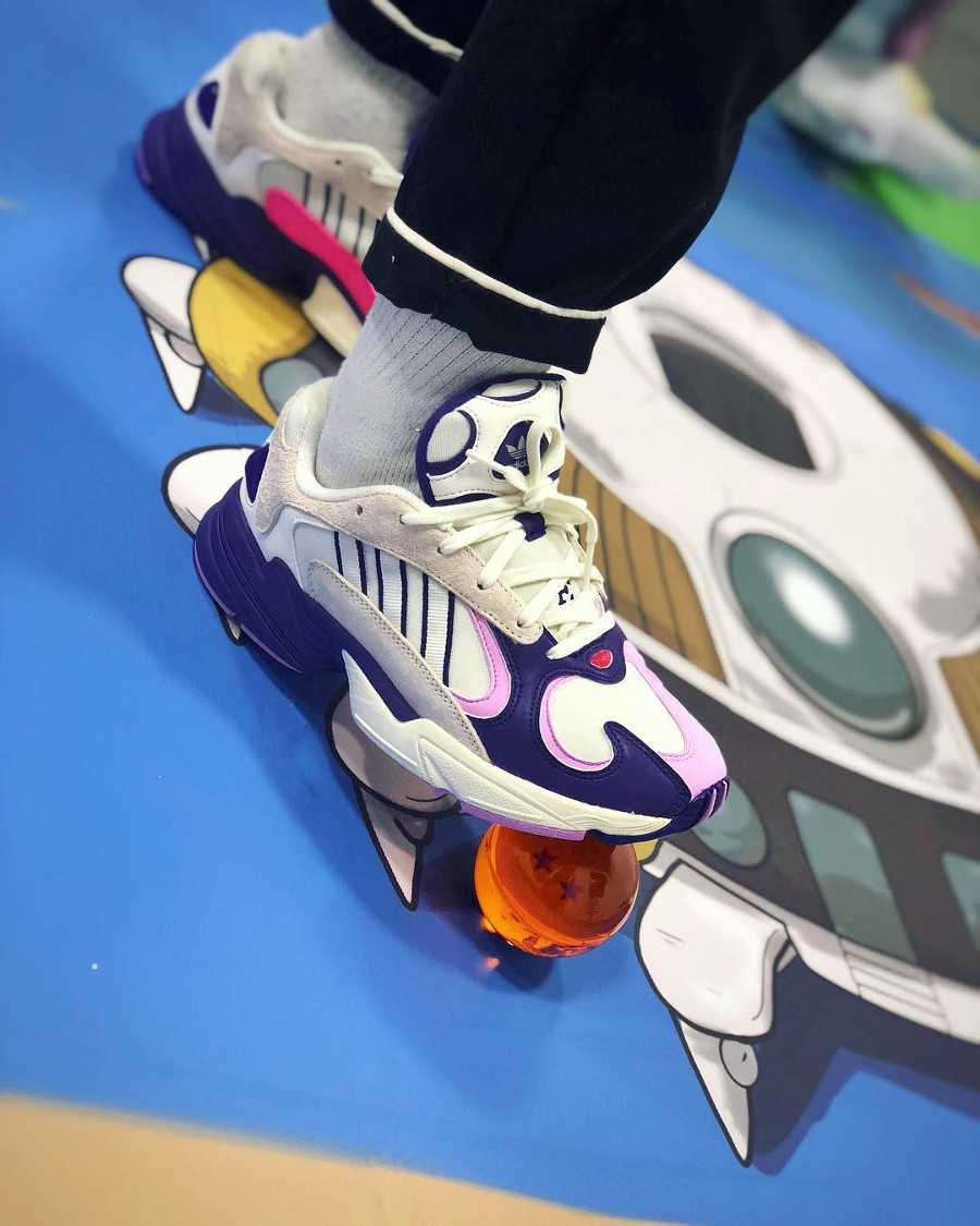 Dragon Ball Z x Adidas Yung-1 Frieza - @seya_stef