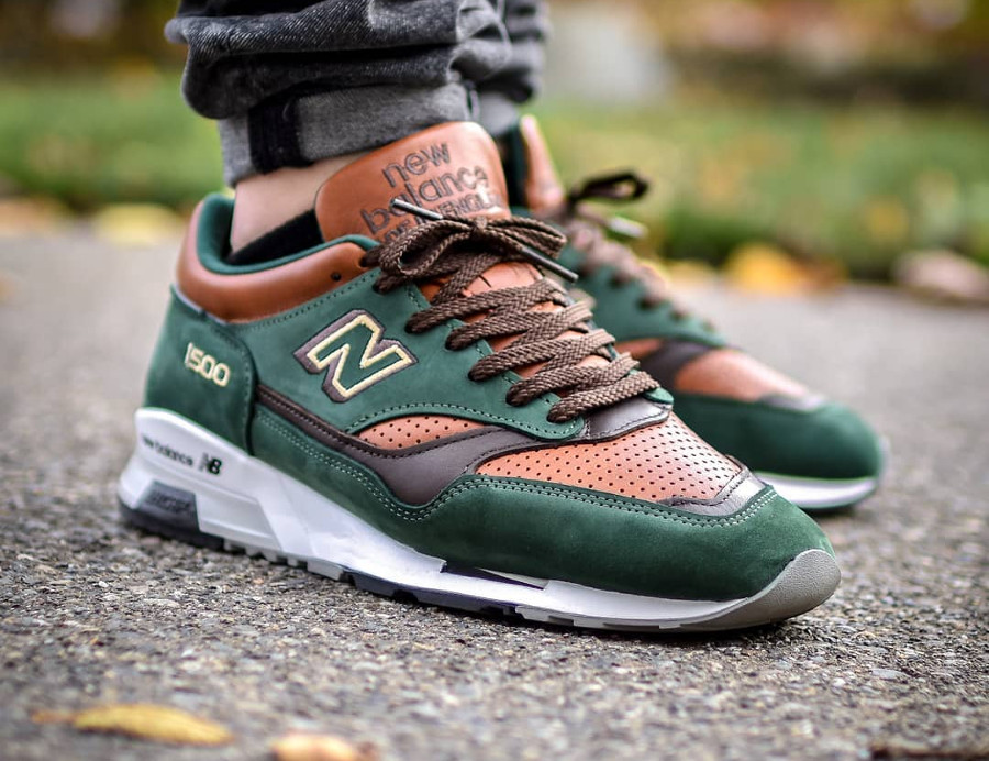New Balance M 1500 GT 'Robin Hood' Dark Green Brown (made in UK)